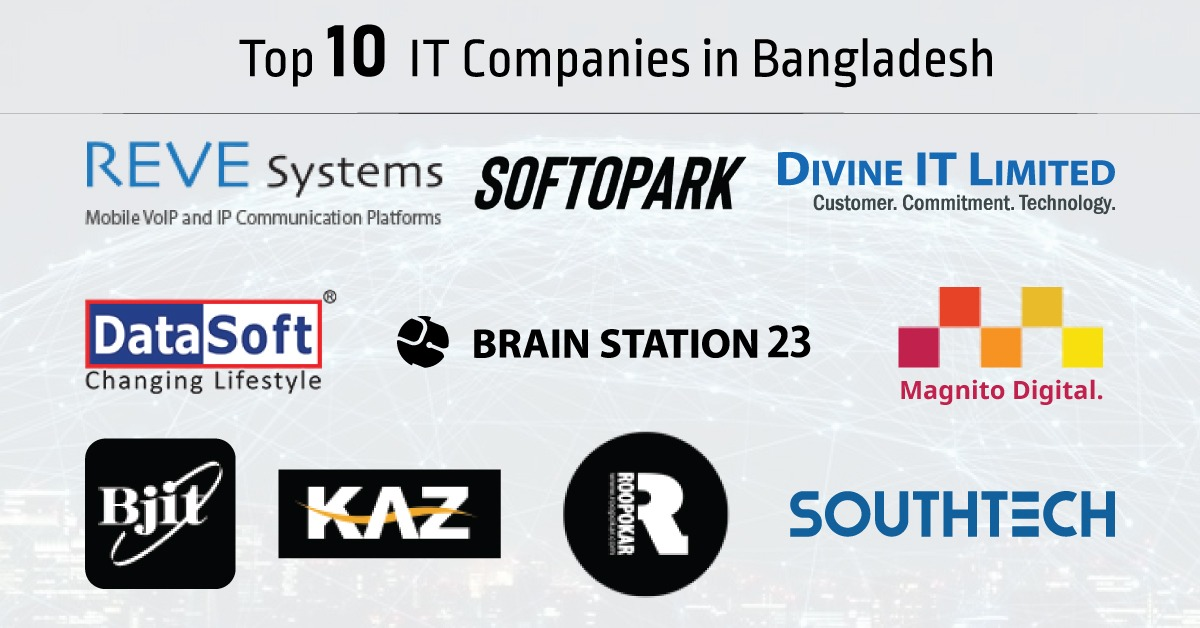 Top IT firms in Bangladesh to hire for your tech solutions.